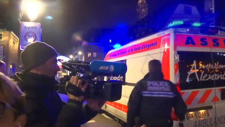 Стрельба в Страсбурге была зафиксирована в трех точках города