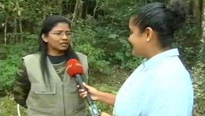 В Индии женщина впервые поднялась на гору, которая предназначалась только для мужчин. Видео