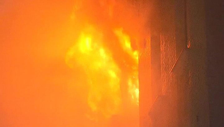 Пожар в столице Бангладеш унес жизни десятков людей