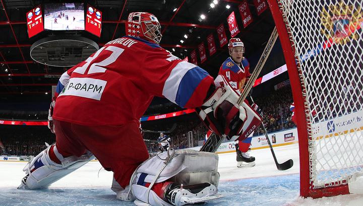 Сборная России проиграла шведам в матче хоккейного Евротура