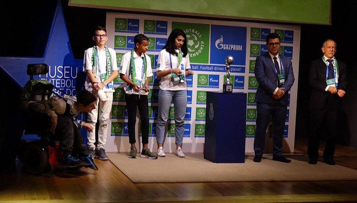 Сборная Бразилии по футболу получила социальный Кубок