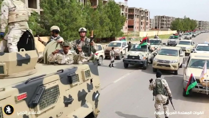 Ливийское Правительство национального согласия объявило о прекращении огня