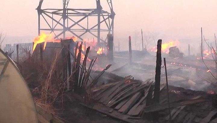 Пожары в Забайкалье нанесли ущерб на 280 миллионов рублей