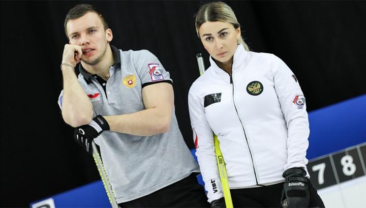 Керлинг. Россияне сыграют с Испанией на чемпионате мира в дабл-миксте