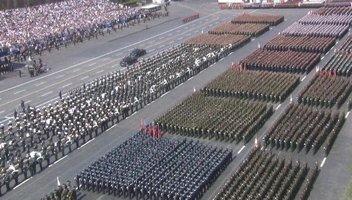 Генеральная репетиция парада Победы: новые участники и новинки техники
