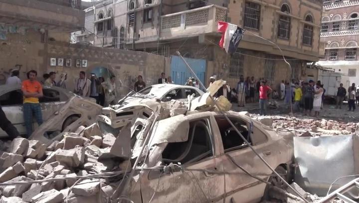 Жертвами авиаудара по позициям хуситов стали 10 мирных йеменцев