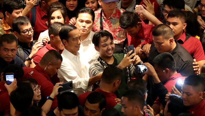 Действующий глава Индонезии выиграл президентские выборы