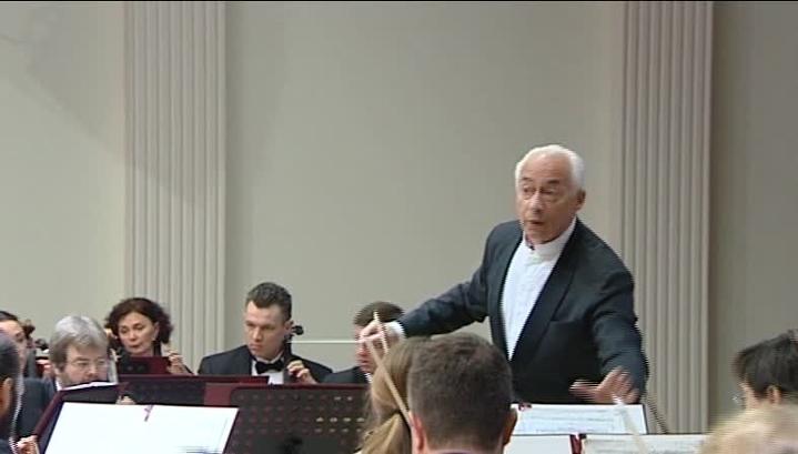 Оркестр Владимира Спивакова дал концерт в Мурманске в память о жертвах трагедии в Шереметьево