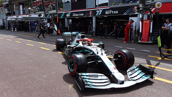Формула-1. Хэмилтон выиграл поул Гран-при Монако. Квят - восьмой
