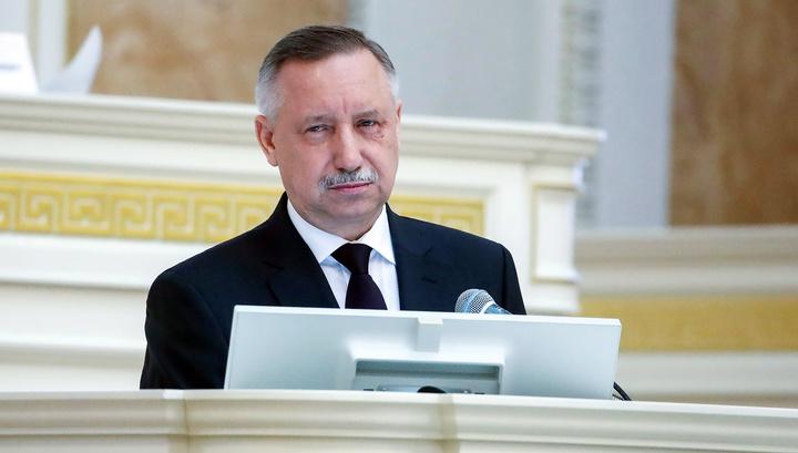 Врио губернатора Петербурга подал документы для участия в выборах