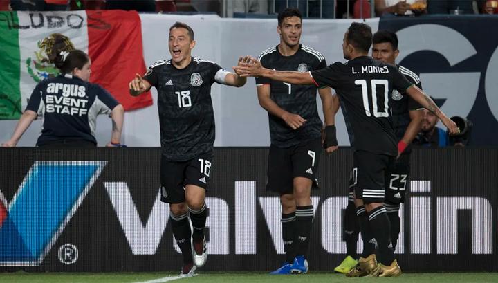 Кубок КОНКАКАФ. Футболисты Мексики одной ногой в плей-офф