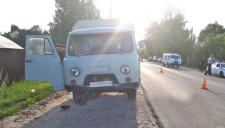 Грузовик сбил троих пешеходов в Моршанске