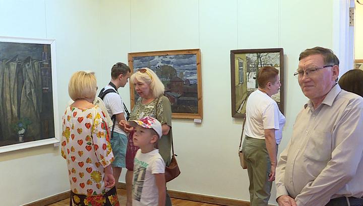 Оренбургский музей получил в дар коллекцию картин русских художников XX века