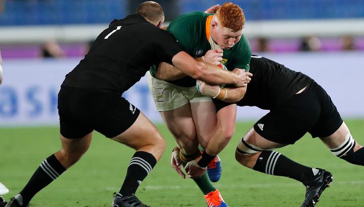 Регбисты Новой Зеландии выиграли принципиальный матч у ЮАР