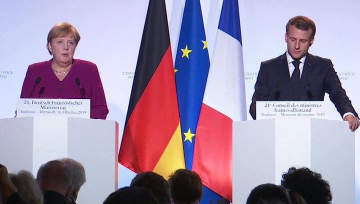 """Меркель и Макрон назвали обмен пленными """"положительным шагом"""""""