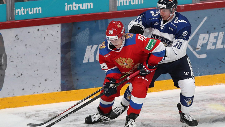 Российские хоккеисты уступили финнам на Кубке Карьяла