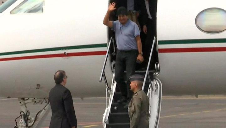 Бывший президент Боливии Эво Моралес вылетел на Кубу для медицинского обследования