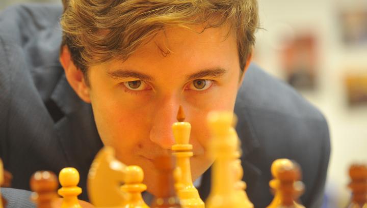 Сергей Карякин сыграл вничью с Харекришной в первом туре Гран-при ФИДЕ