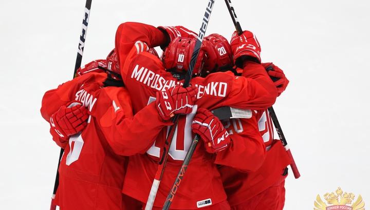 Российские хоккеисты завоевали золото юношеских Олимпийских игр