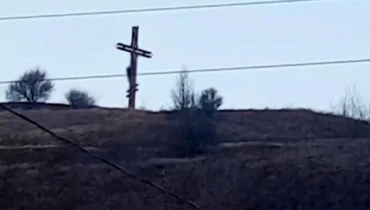 СК проводит проверку по факту обнаружения тела на Поклонном кресте в Белгороде