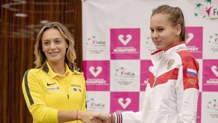 Румынские теннисистки сравняли счет в матче Кубка Федерации с Россией