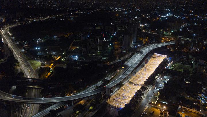 В Венесуэле произошло очередное массовое отключение электричества