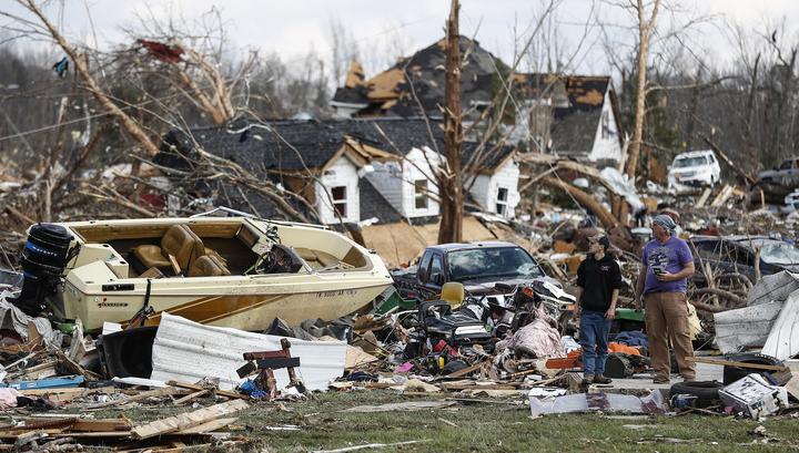 Торнадо в Теннесси: погибли 25 человек