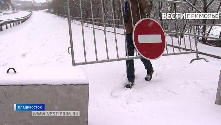 "Приморье ожидает снежный ""армагеддон"""