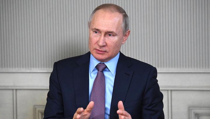 Президент посоветовал россиянам не покупать продукты впрок