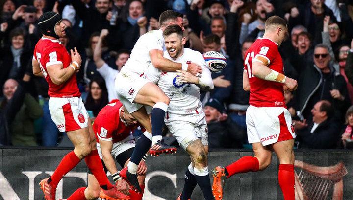 Кубок шести наций: регбисты Англии подвинули Францию с первого места