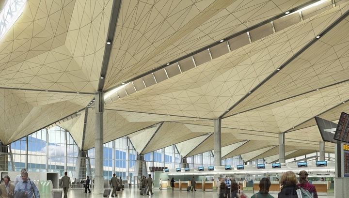 Пассажиропоток российских аэропортов сократился на 60%