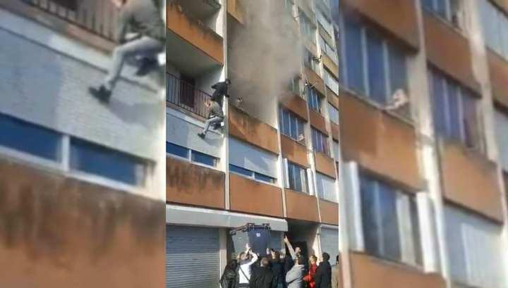 Выходцы из России спасли пенсионера из горящего дома во Франции