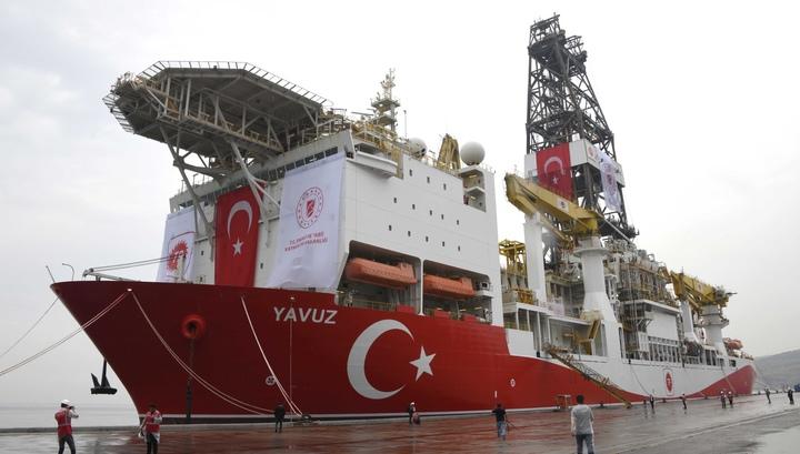 Война за газ в Средиземноморье не утихает