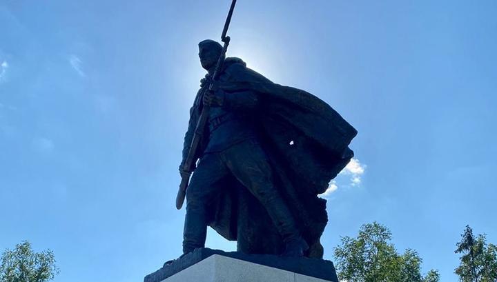 У Долины Смерти открыли памятник героям Великой Отечественной войны
