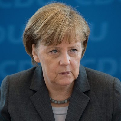 Меркель направила президенту России Владимиру Путину поздравительную телеграмму