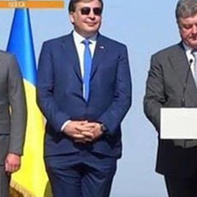 Саакашвили передал Порошенко письмо, в котором предлагает помириться