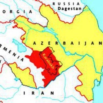 ВВС Азербайджана наносят удары по северной части Карабаха