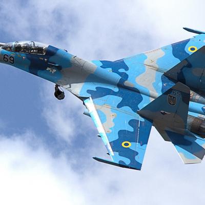Российский Су-27 поднимался на перехват двух бомбардировщиков ВВС США над Балтикой