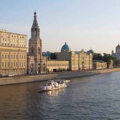 Все московские набережные благоустроят в течение пяти лет