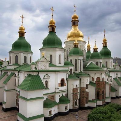 В Софийском соборе в Киеве начался