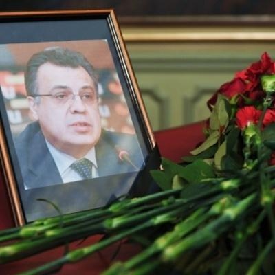 Медведев в Стамбуле открыл мемориальной доску, погибшему послу Андрею Карлову