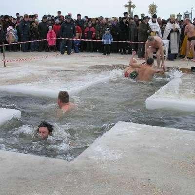 МЧС напомним правила купания в Крещение