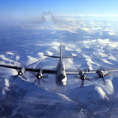 Японские истребители сопроводили бомбардировщики Ту-95МС