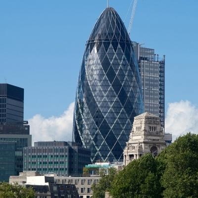 Лондонский небоскреб Мэри-Экс, известный также как