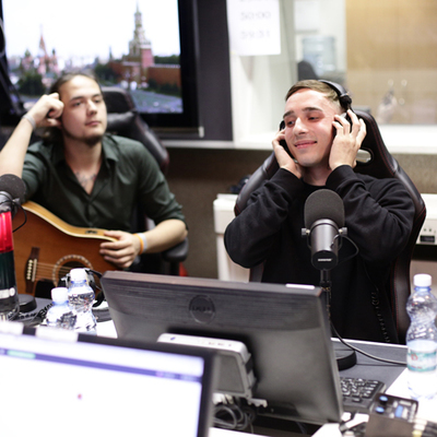 Мэтью в студии
