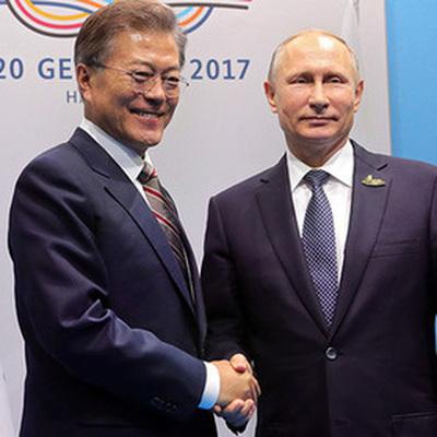 Президент Южной Кореи прибыл в Кремль на переговоры с Путиным