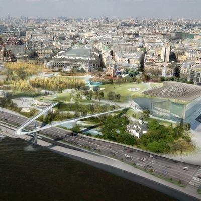 За первые дни работы московского парка
