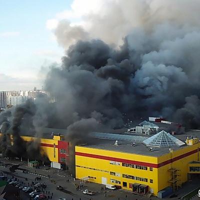 Основная версия пожара в ТЦ