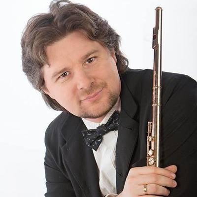 Николай Попов, флейтист, член жюри