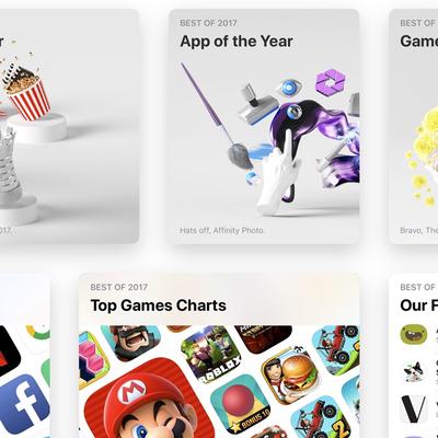 Apple объявила лучшие игры и приложения года